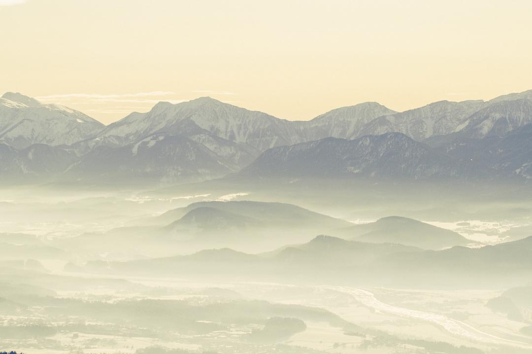 Karinthië Oostenrijk winter bergen