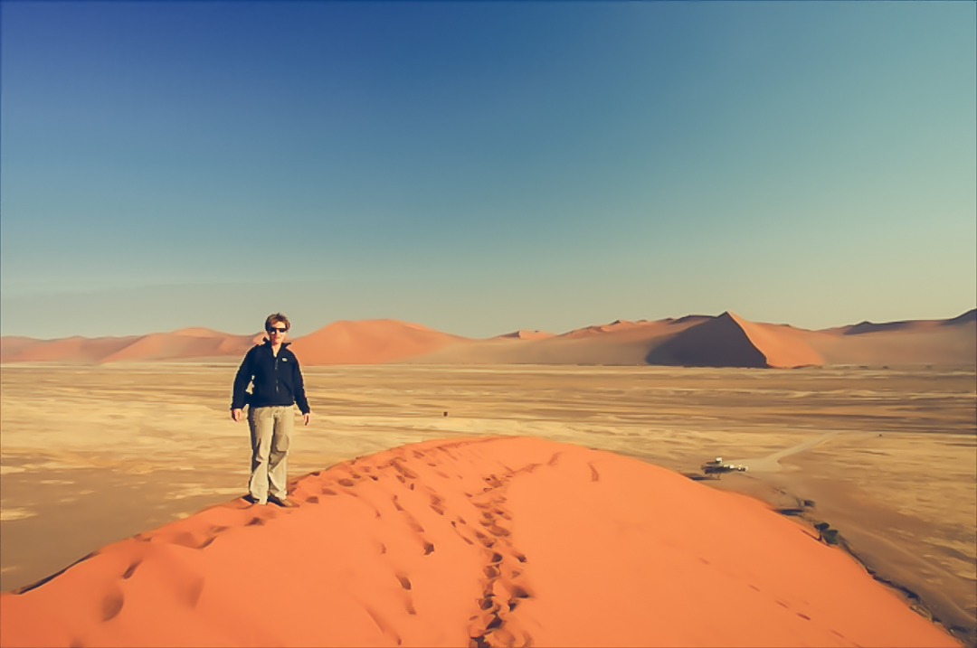 Namibië - Afrika - reisjournaal 2007 - Jannekes wereld - reizen