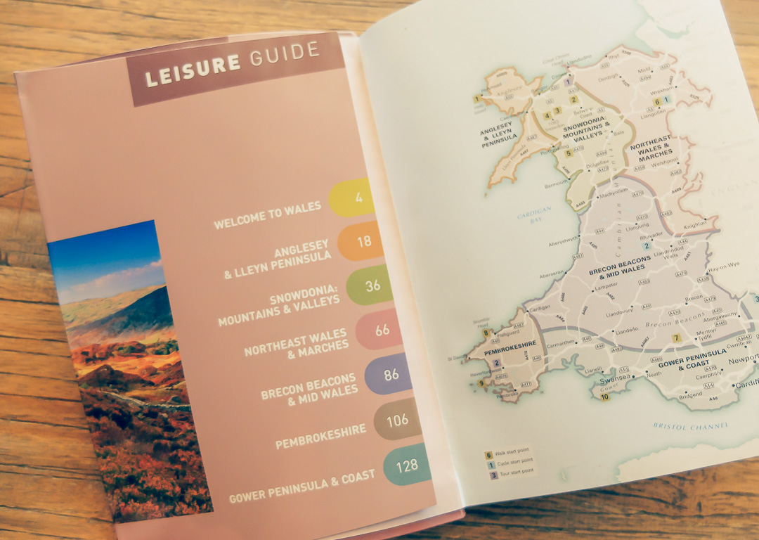 reisgids Wales leisure guide reizen Jannekes wereld