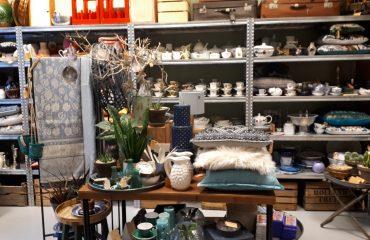 bij lokaal conceptstore woonwinkel vintage regionale producten tweedehands nieuw