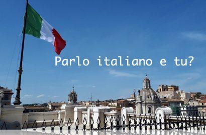italiaanse les parlo italiano e tu