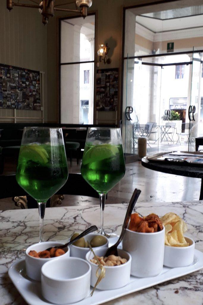 P31 Green Spritz in La Sala verde