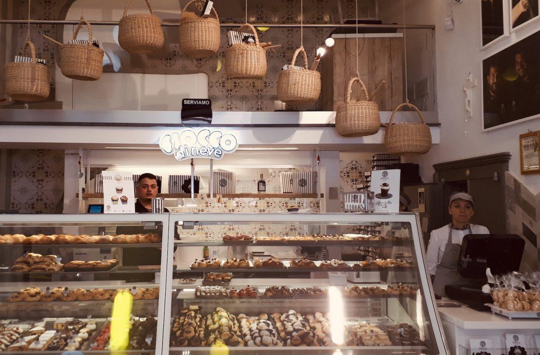 poppella pasticceria napels napoli fiocco di neve negozio
