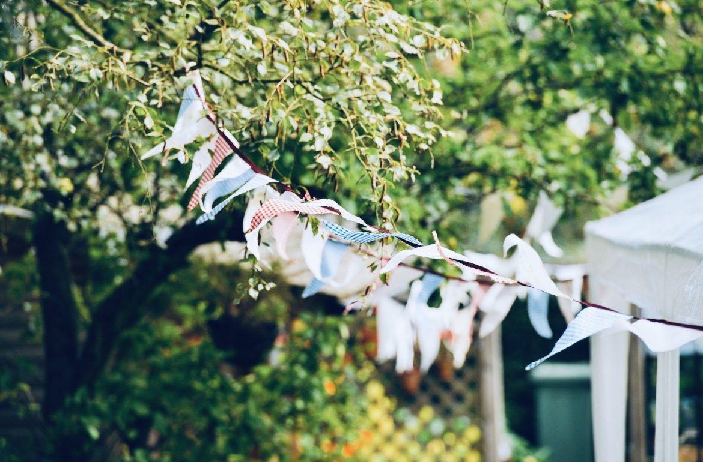 feest weekend favorieten zomer verjaardag slingers tuin
