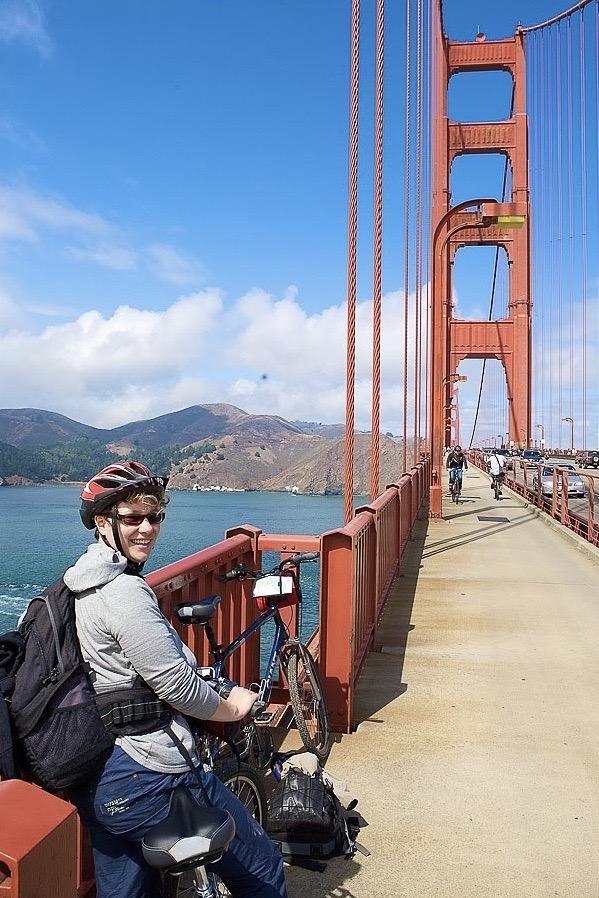 fietsen San Francisco Golden Gate bridge
