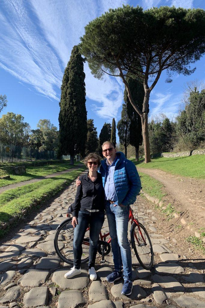 fietsen in wereldsteden rome