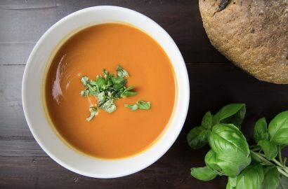 tomatensoep mascarpone Italiaanse soep
