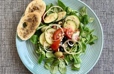 ansjovisbroodjes Toscaanse salade eten recept