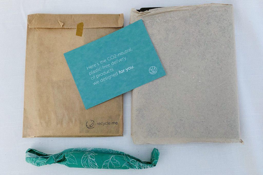 GreenBook uitpakken notitieboek onderdelen