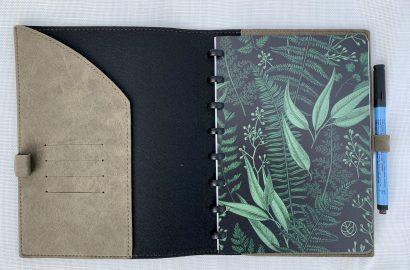 GreenBook notitieboek groen duurzaam minimalisme