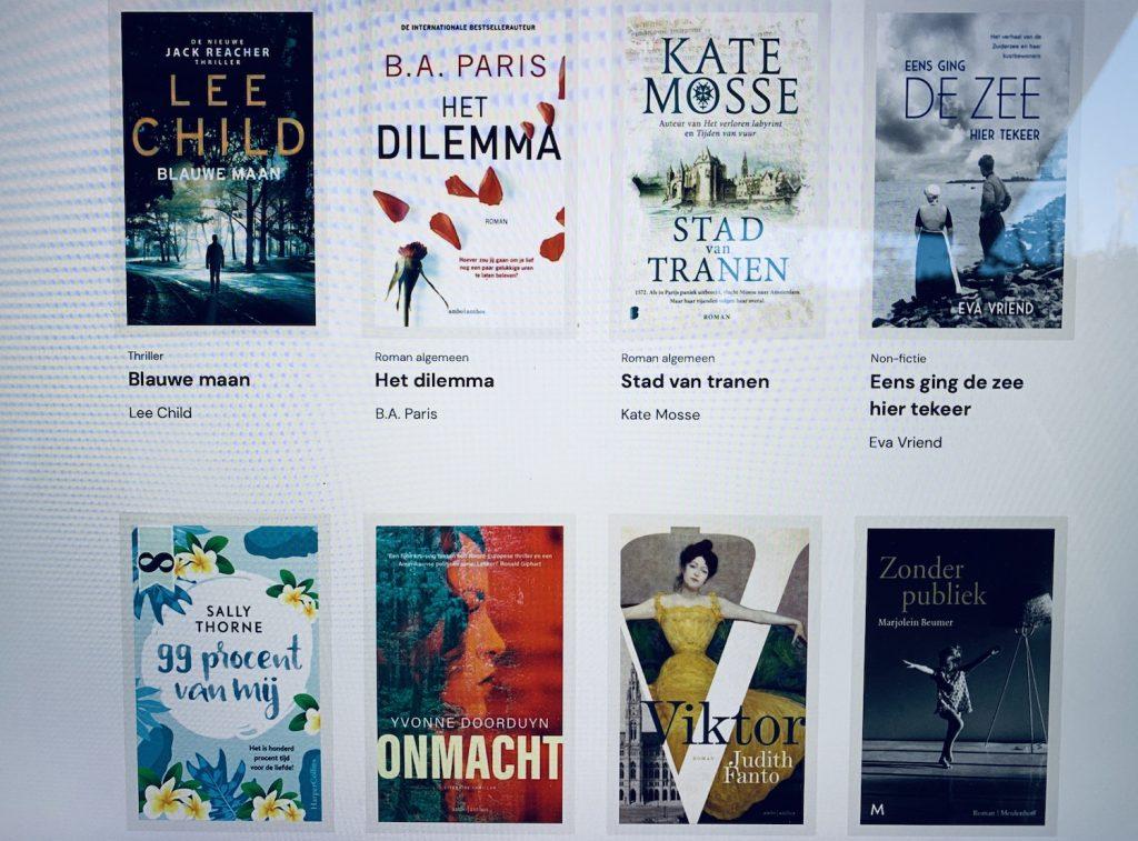 bookchoice elke maand 8 ebooks en audiobooks