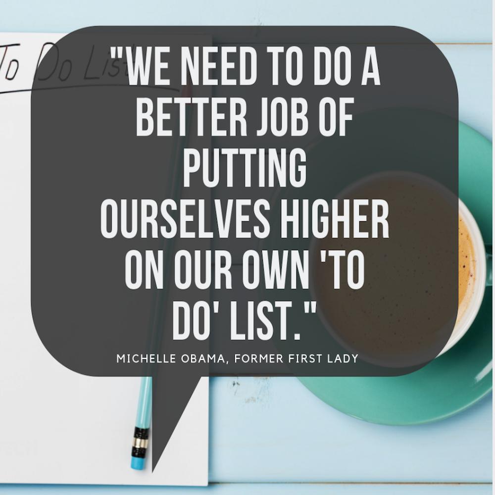 weekend favorieten Michelle Obama quote ritme