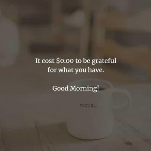 ochtenden morning quote