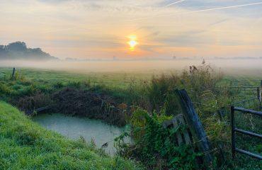 ochtenden leegkerk