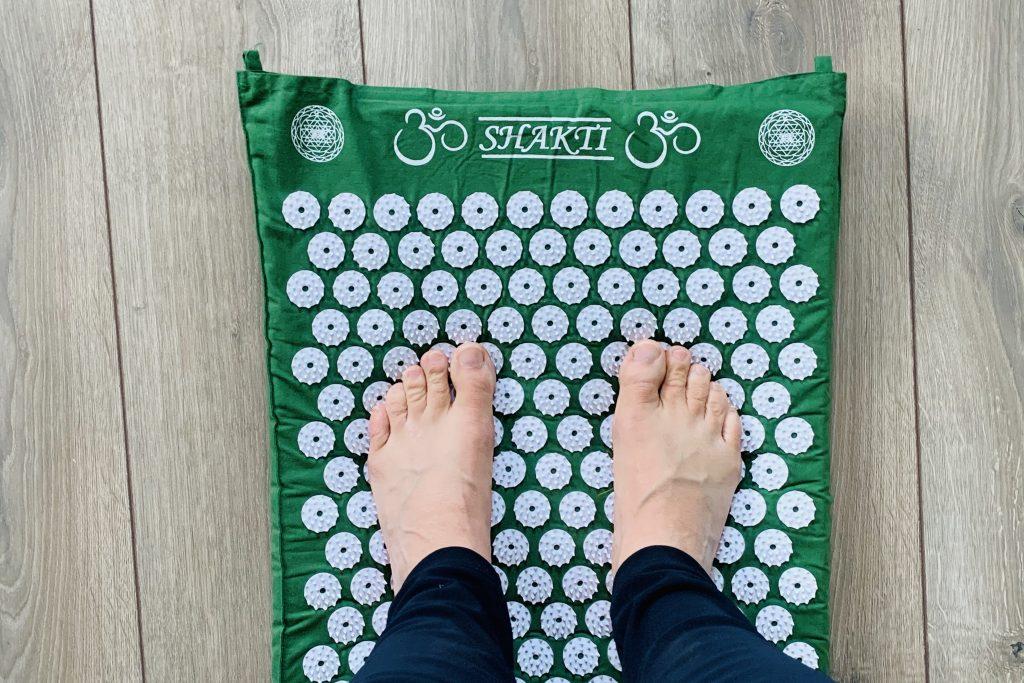 staan op Shakti mat