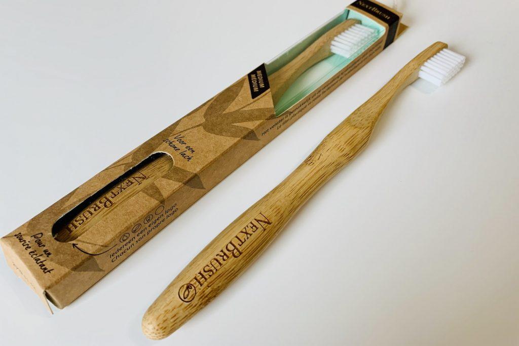 duurzame badkamer tandenborstel next brush