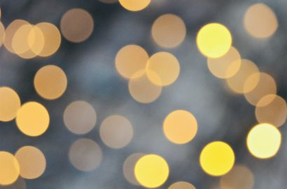 lichtjes kerst warmte