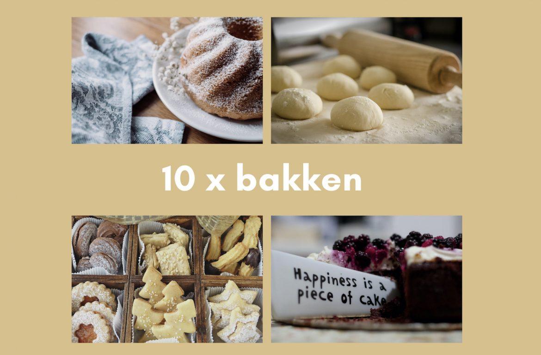 bakken voor kerst en andere momenten