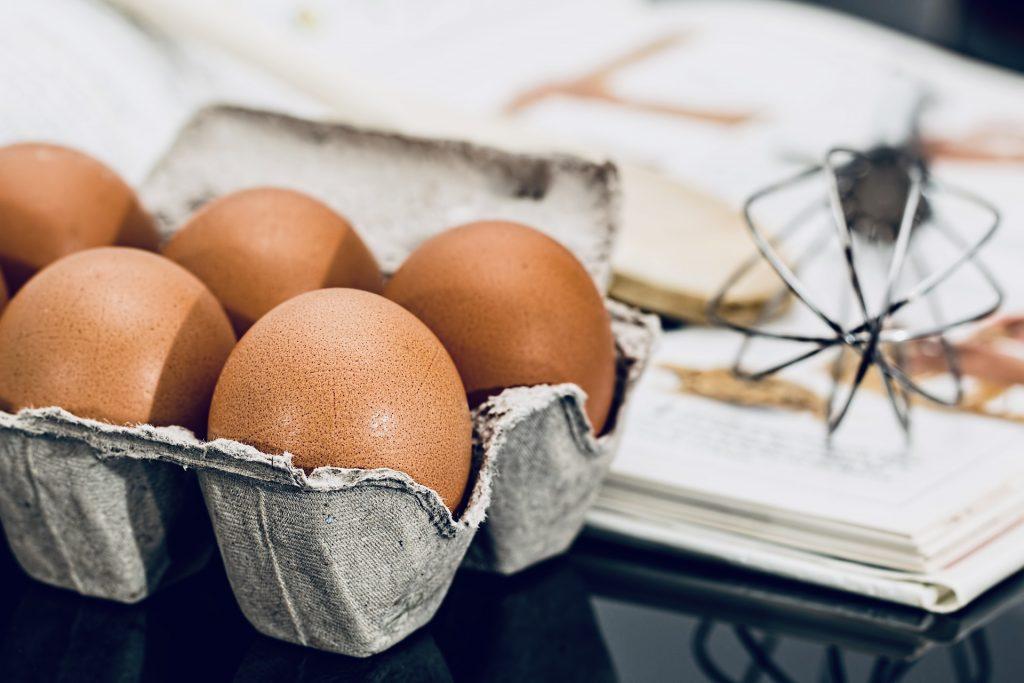 bakken eieren garde