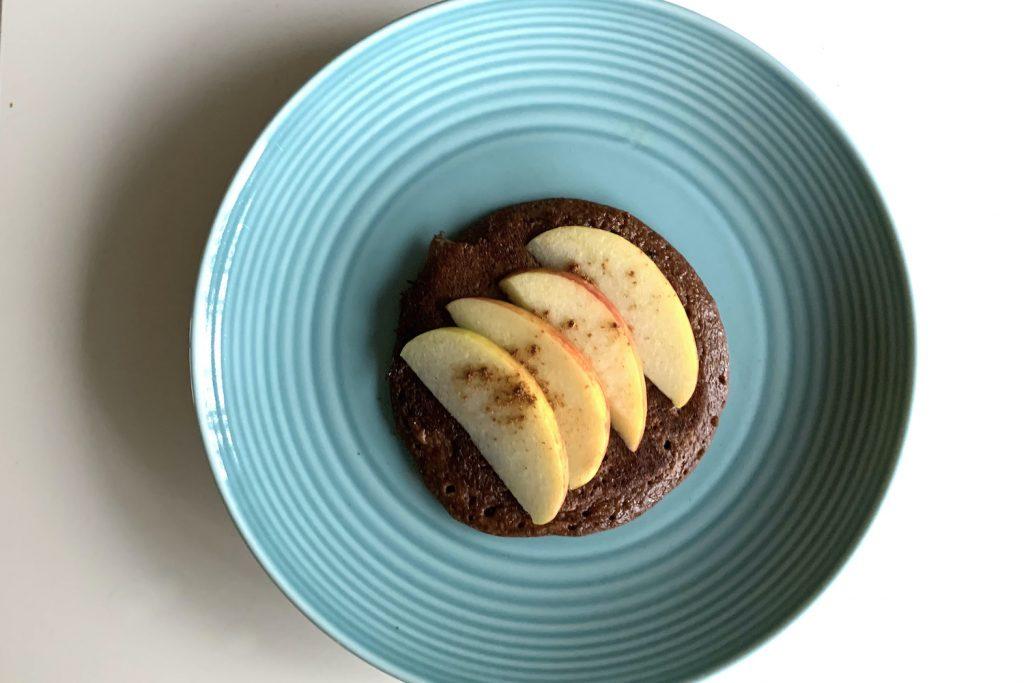 choco pannenkoeken met appel