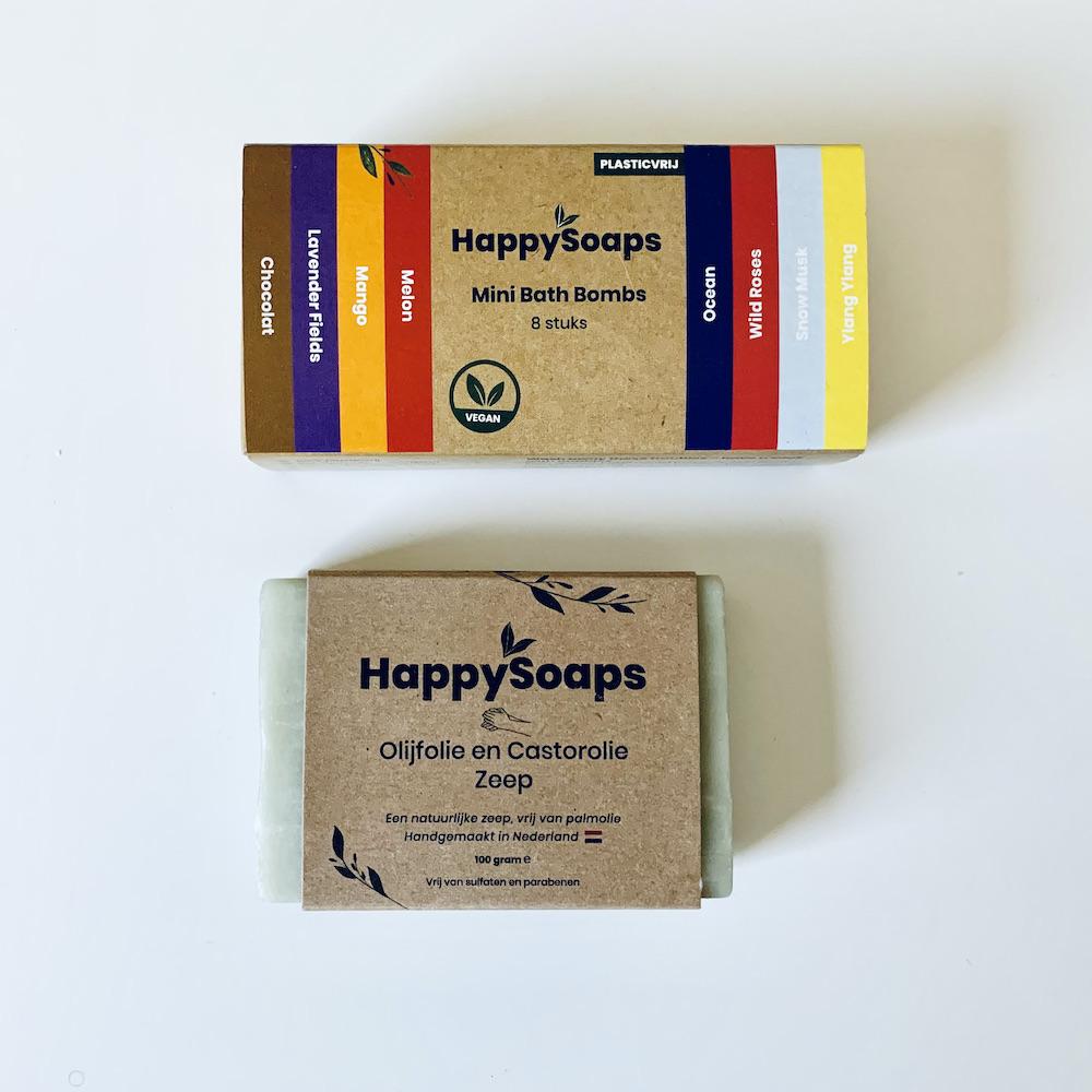 groene beautyproducten happy soaps Jannekes wereld