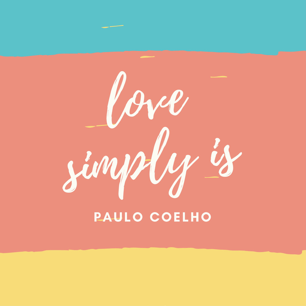 liefde quote love simply is
