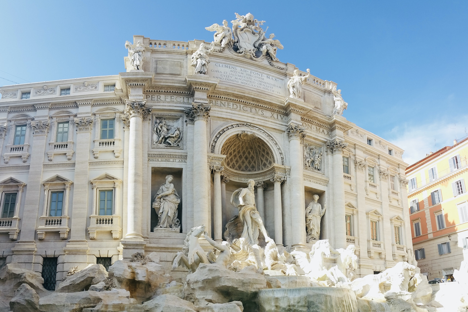 rome trevi fontein weekend