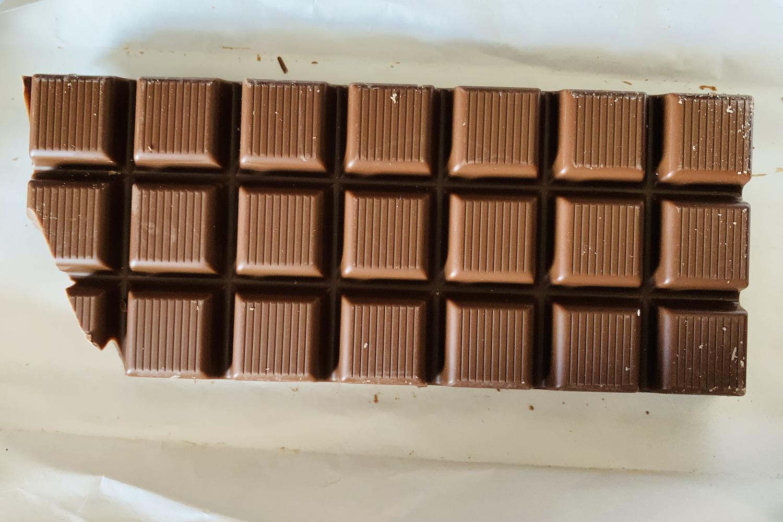 bounty's maken: chocolade reep