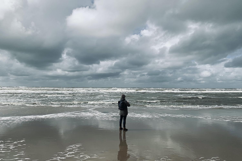 vrij zijn vakantie janneke strand