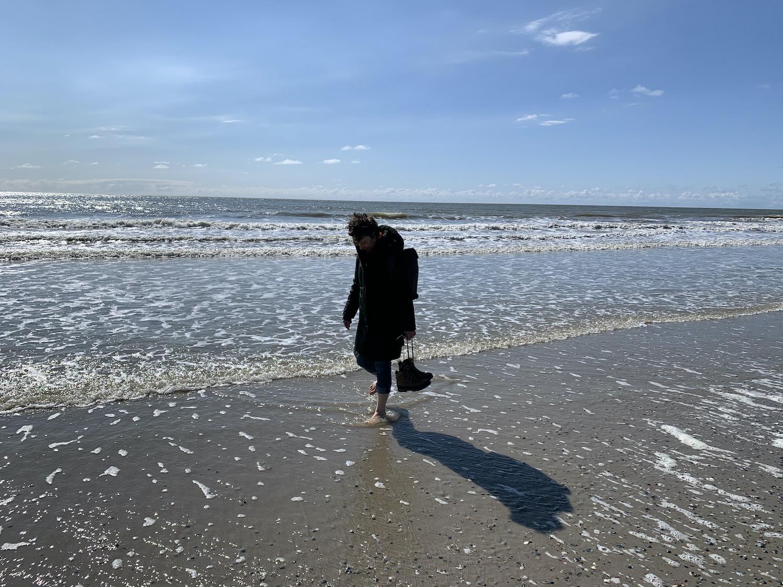 Zeeuwse kust pootje baden