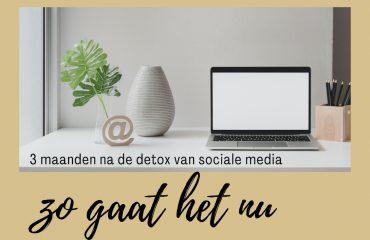 sociale media minder gebruiken ervaringen