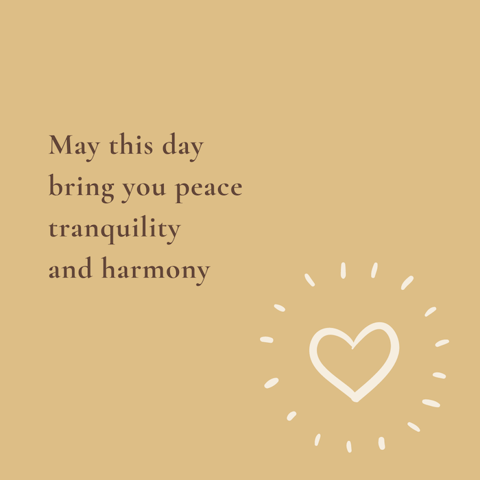 quote, peace tranquility, kickstart van de dag