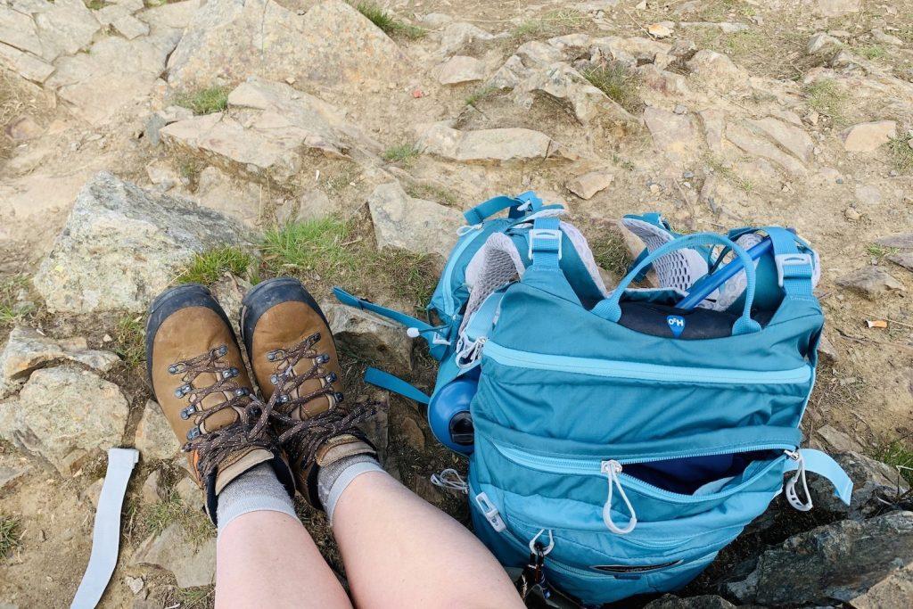 zomerfavorieten bergschoenen dagrugzak