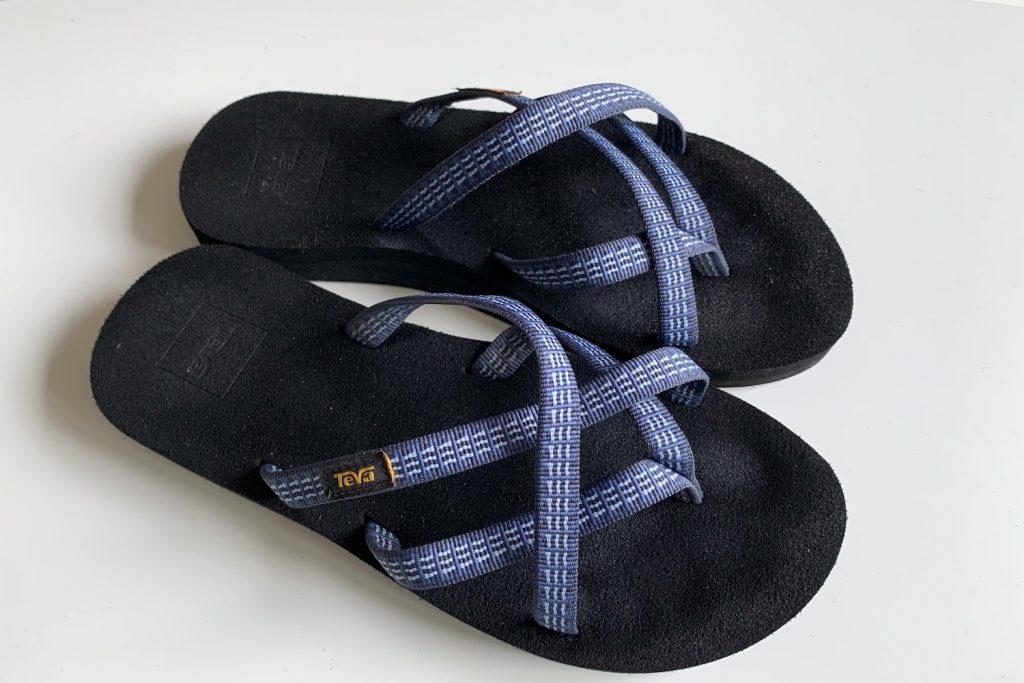 Teva slippers zomer capsule wardrobe 2021