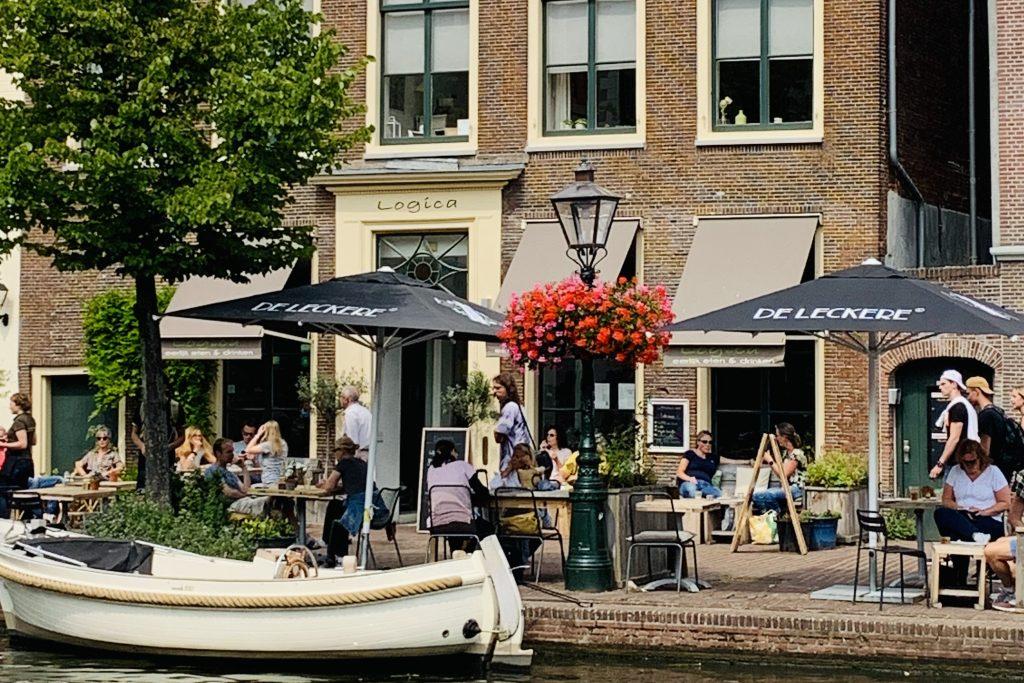 Logica Leiden terras