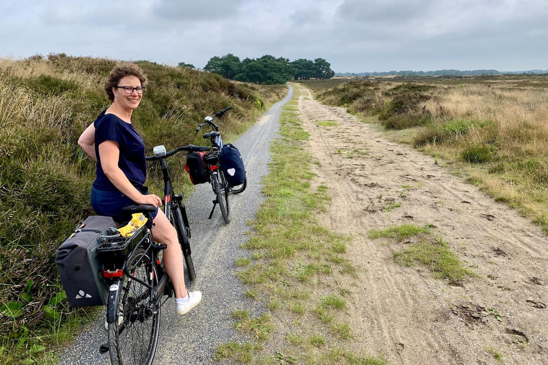 thuisvakantie fietsen
