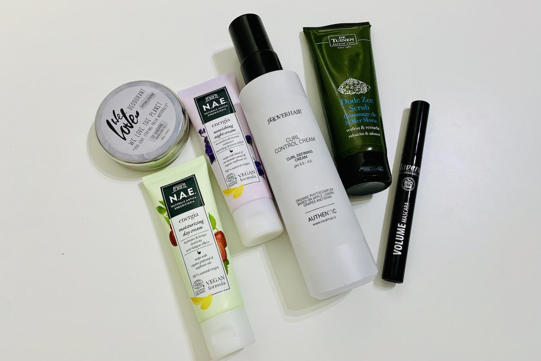 natuurcosmetica groene beautyproducten